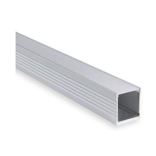 Perfil de Aluminio 1m para Tiras LED 220V RGB