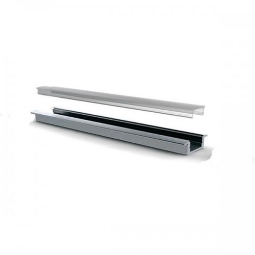 Perfil de Aluminio 1m para Tiras 120 LED/m A51