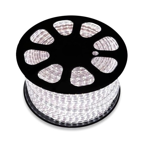 Bobina de Tira LED 220V AC SMD5050 60 LED/m Amarillo (50 Metros)