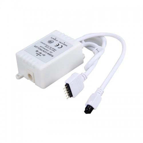 Controlador Tira LED RGBW 12V, Dimmer por Control Remoto IR 40 Botones
