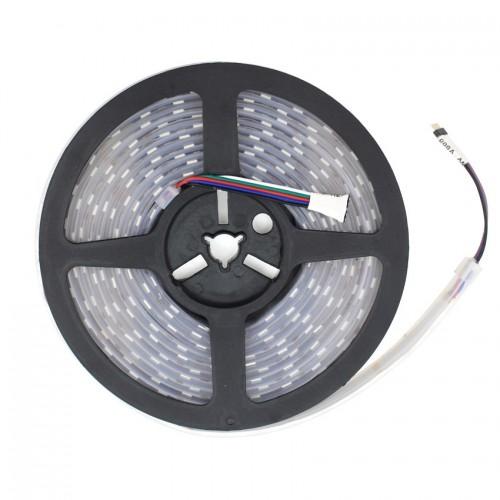 Tira LED 12V DC SMD5050 120LED/m 5m RGBW IP67