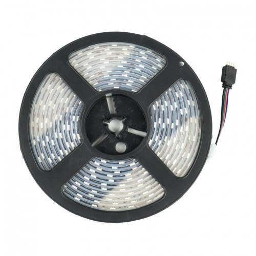 Tira LED 12V DC SMD5050 60LED/m 5m RGB IP67