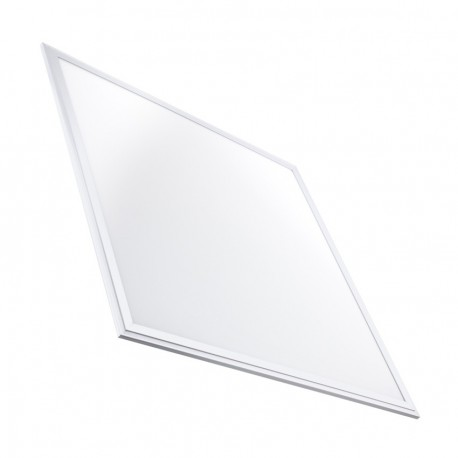 Panel LED Slim Emergencia 60x60cm 40W 3200lm Marco Blanco