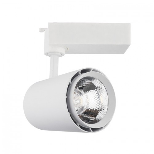 Foco LED Mallet para Carril Monofásico 30W