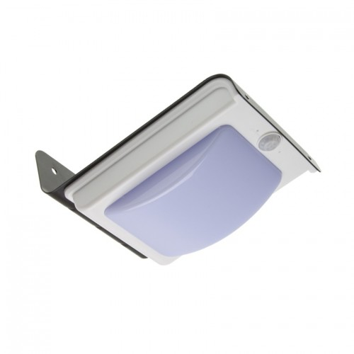 Aplique LED Solar con Sensor PIR Black River
