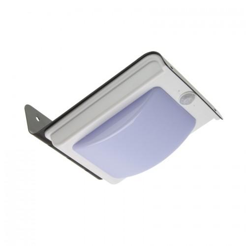 Aplique LED Solar con Sensor PIR Black River