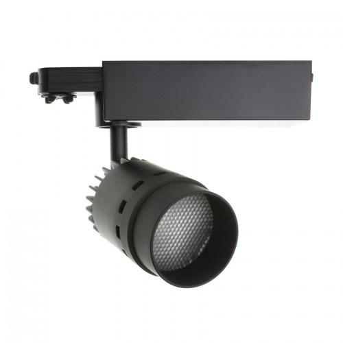 Foco LED Cree Cannon 20W Negro para Carril Trifásico