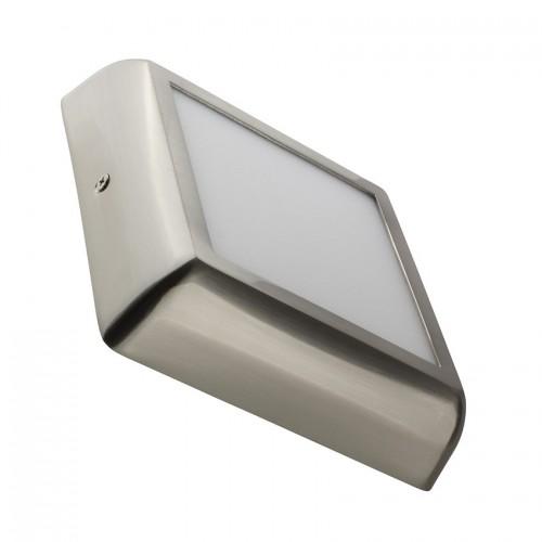Plafón LED Cuadrado Design 12W Silver