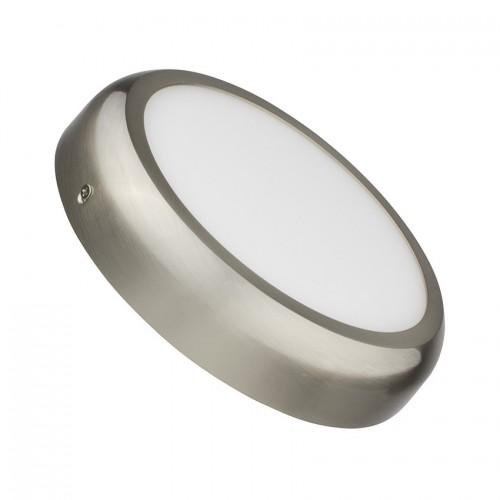 Plafón LED Circular Design 18W Silver