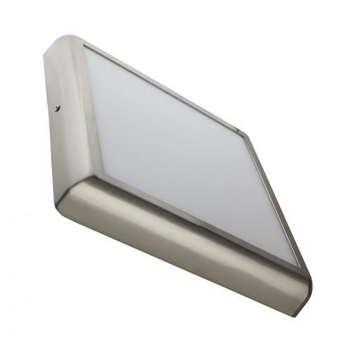 Plafón LED Cuadrado Design 24W Silver