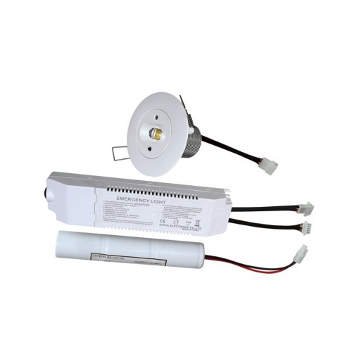Foco Downlight LED Emergencia 5W Iluminación Lineal