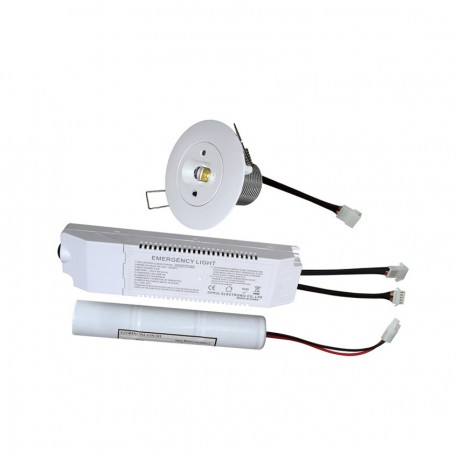 Foco Downlight LED Emergencia 5W Iluminación Lineal